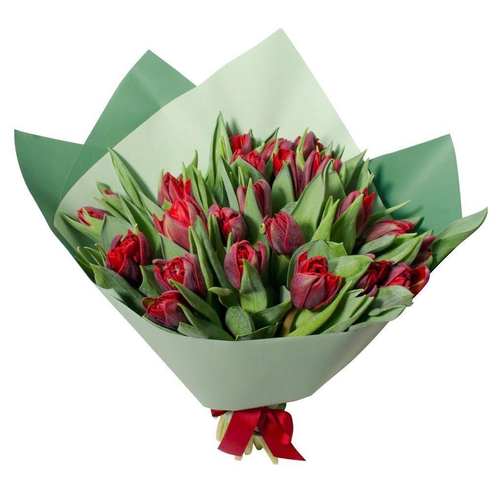 Киев букет для з роддому тюльпани